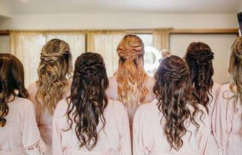 15+ idei de coafuri pentru domnisoarele de onoare
