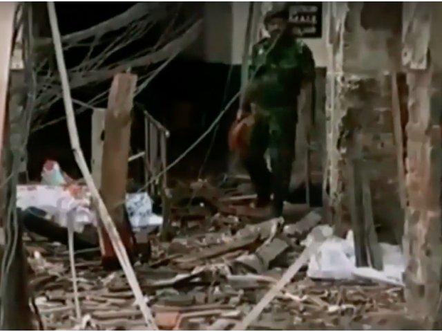 158 de oameni au fost ucisi in sase explozii produse in cursul noptii in hoteluri si biserici din Sri Lanka