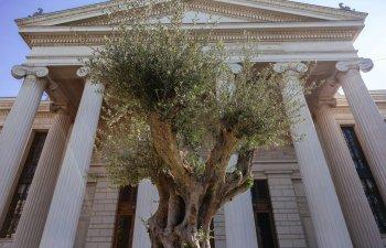 Corul National Madrigal a transformat Parcul Ateneului Roman intr-o replica a Gradinii Ghetsimani pentru Concertul extraordinar de Paste