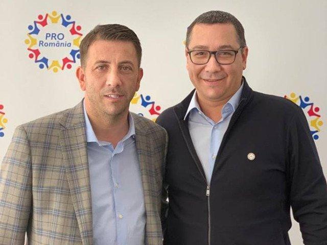 Un deputat PSD s-a inscris in Pro Romania: Sunt dezamagit ca in Arges am ajuns ca valorile de stanga sa fie reprezentate de Catalin Radulescu
