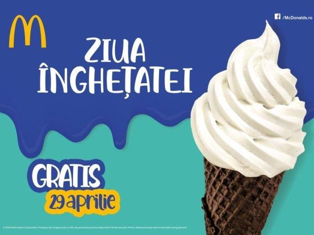 (P) Ziua Inghetatei la McDonald's