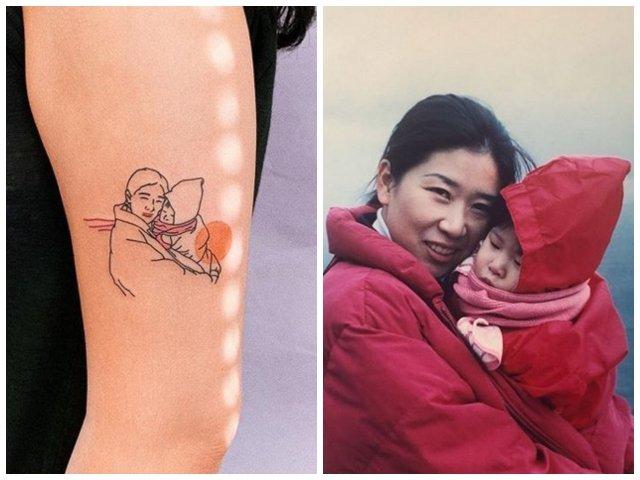 10+ tatuaje pentru persoanele care vor sa-i aiba mereu aproape pe cei dragi