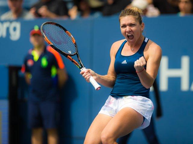 Simona Halep s-a calificat in finala turneului de la Madrid