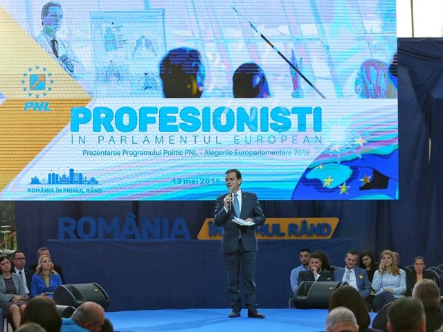PNL si-a lansat programul politic pentru alegerile europarlamentare