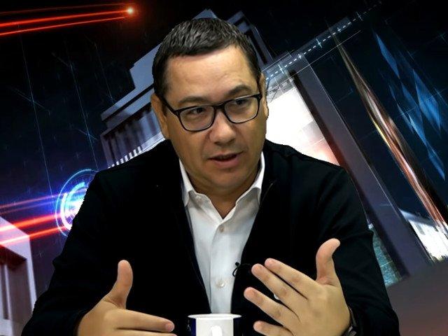 Ponta: Liviule, ti-e frica de PRO Romania. Dar de ce ti-e frica nu scapi!