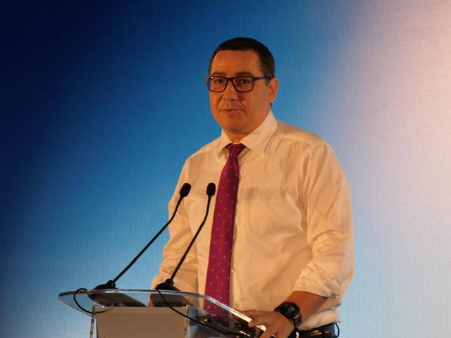 Ponta, despre europarlamentare: Daca PSD ia sub 30% il va executa Dancila pe Dragnea