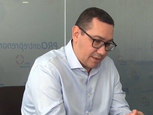 """Ponta: L-am auzit de mai multe ori pe Dragnea rugandu-se de fostii sefi ai SRI sa il ajute cu """"dosarul"""""""