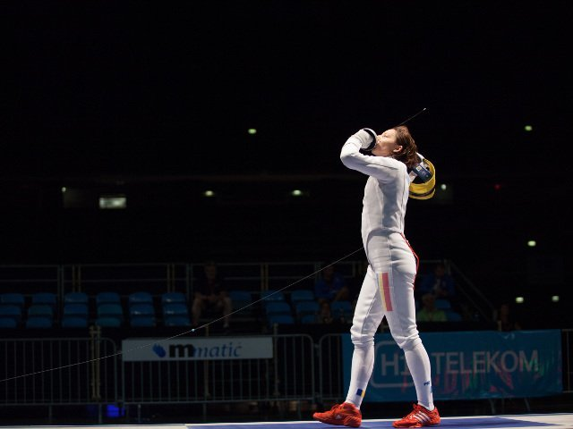 Ana Maria Popescu, numarul 1 mondial la spada
