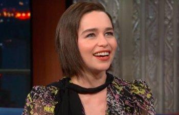 Emilia Clarke a vizionat inregistrari cu Hitler pentru a-si pregati discursul pe care l-a pronuntat in ultimul episod din serialul ''Game of Thrones''