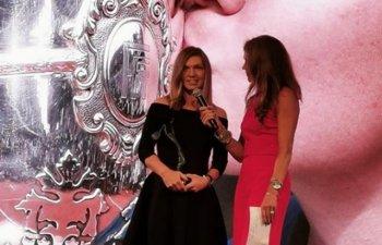 Simona Halep a primit la Paris titlul pentru cea mai buna jucatoare in 2018