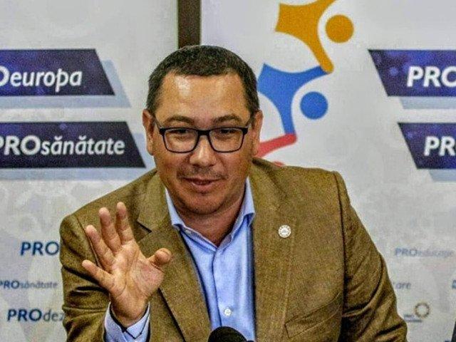 Ponta, despre europarlamentare: Marele castigator este evident USR - PLUS. Peste tot in Europa vor continua sa creasca ca numar de voturi