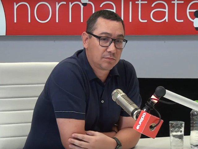 Victor Ponta: Parlamentarii PRO Romania vor vota la vedere pentru motiunea de cenzura