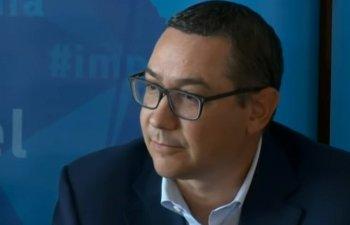 Ponta: Am semnat Acordul politic national pentru ca principiile din acest pact sunt corecte si sunt spre binele nostru ca societate