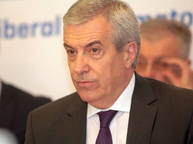 Tariceanu: Romania are la Cotroceni un trantor solemn, un politician - creatie de laborator