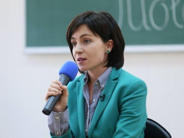 Maia Sandu: Multumesc Romaniei si presedintelui Iohannis pentru sprijinul constant acordat Republicii Moldova