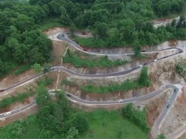S-a deschis traficului un drum din Romania care ar putea rivaliza cu Transfagarasan si Transalpina/ VIDEO