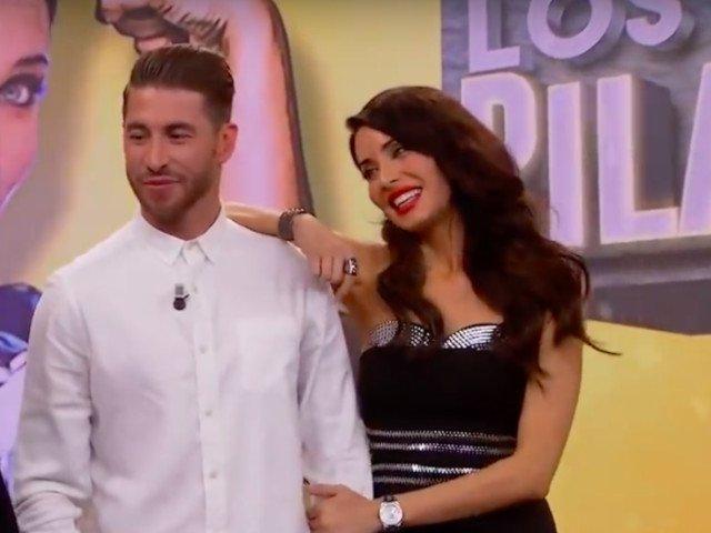 Sergio Ramos s-a casatorit cu o prezentatoare de televiziune