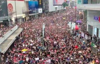Un nou protest a avut loc la Hong Kong pentru retragerea completa a controversatului proiect de lege privind extradarea/ VIDEO