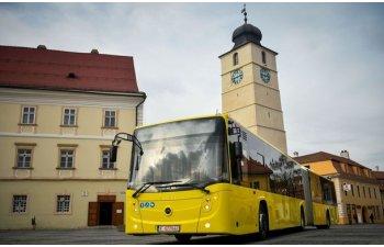 Wi-Fi gratuit in peste 100 de autobuze din Sibiu: parteneriat intre primarie, Continental si Orange