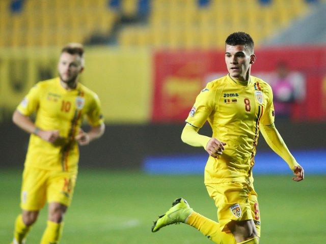 Romania, debut cu o victorie impotriva Croatiei la Campionatul European de tineret, scor 4-1