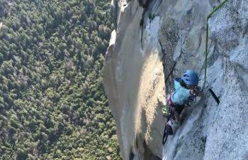 O fetita de 10 ani a devenit cea mai tanara persoana din lume care a escaladat piscul El Capitan, din Parcul Yosemite/ VIDEO