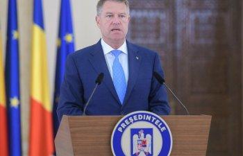 Iohannis: Solicit Guvernului sa elaboreze urgent un proiect de lege privind masurile administrative adecvate pentru alegeri
