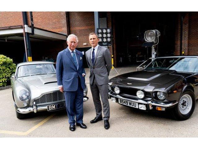 Masinile lui James Bond: Aston Martin a confirmat prezenta modelelor DB5, V8 si Valhalla in noul film cu Agentul 007