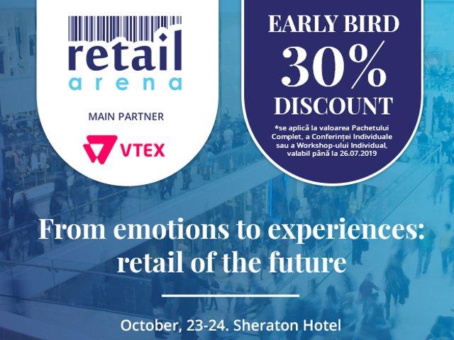 RetailArena 2019 – de la emotii la experiente, in comertul viitorului