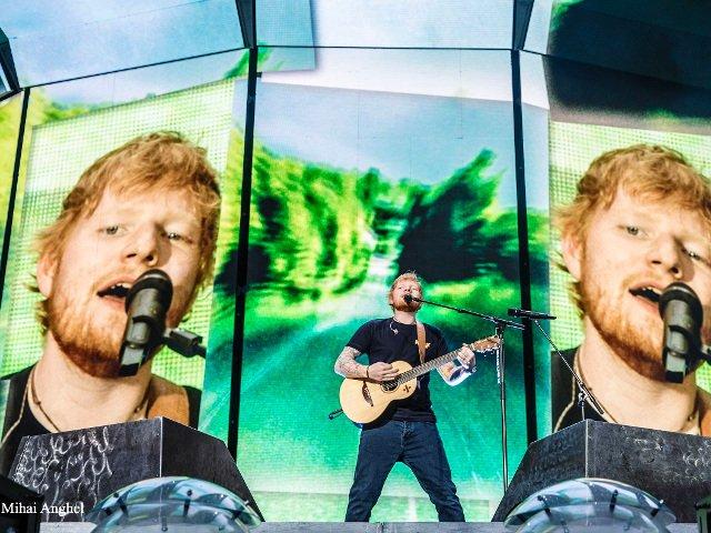 Imagini de la concertul sustinut de Ed Sheeran in Romania. 50.000 de spectatori au cantat pe Arena Nationala/ FOTO