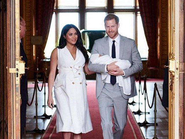Printul Harry si Meghan Markle si-au crestinat fiul/ FOTO