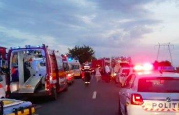 Trei persoane au murit, iar alte patru au fost ranite in urma unui accident in judetul Constanta