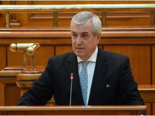 Calin Popescu Tariceanu spune ca ar castiga un tur al doilea al alegerilor prezidentiale, daca l-ar avea contracandidat pe Klaus Iohannis
