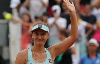 Irina Begu s-a calificat in sferturile de finala la BRD Bucharest Open