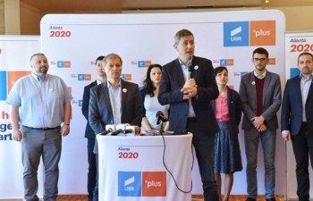Dan Barna a fost desemnat candidatul comun la prezidentiale al Aliantei 2020 USR PLUS