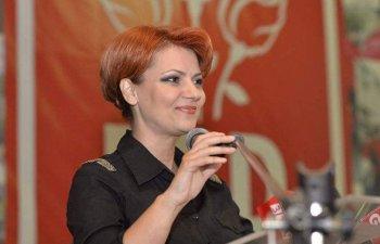 Olguta Vasilescu, realeasa in functia de presedinte al PSD Craiova:
