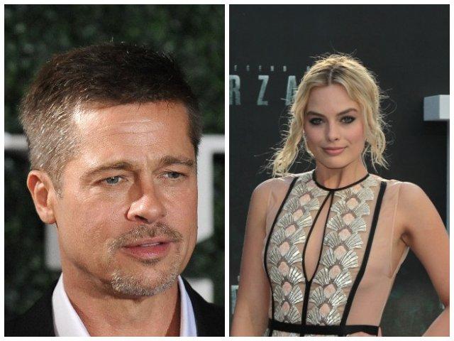 Brad Pitt si Margot Robbie ar avea o relatie, potrivit revistei Life & Style