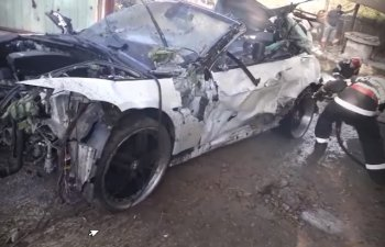 Trei persoane, printre care o femeie insarcinata, ucise de un sofer beat / VIDEO