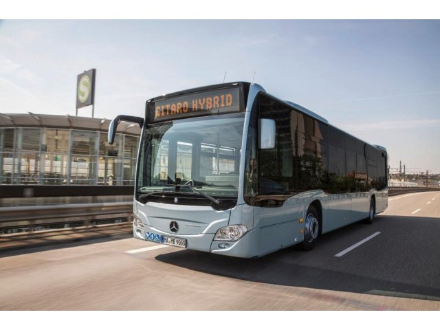 Primaria Capitalei va cumpara 130 de autobuze hibrid de la Mercedes-Benz