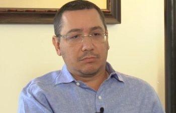 Ponta: Sunt la PSD doi sau trei care vor sa ii ia locul Vioricai Dancila