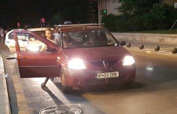 Wall-street.ro: Femeie trasa de par si bagata cu forta in masina, in centrul Capitalei