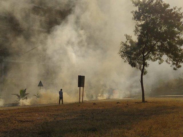 Studiu: Poluarea atmosferica - la fel de daunatoare ca fumatul unui pachet de tigari pe zi