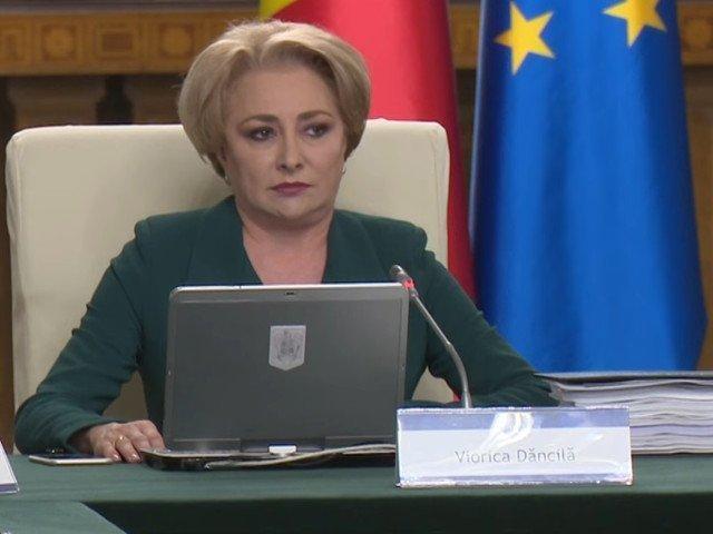 Viorica Dancila, despre acuzatiile lui Tariceanu: Probabil se referea la ministrii dumnealui