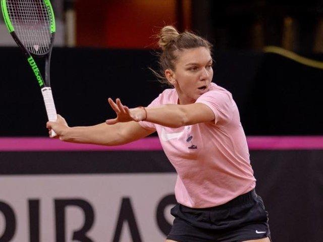 Halep a fost invinsa de catre Madison Keys, in optimi la Cincinnati