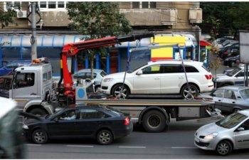 Masinile parcate neregulamentar vor fi ridicate incepand de saptamana viitoare, in Bucuresti