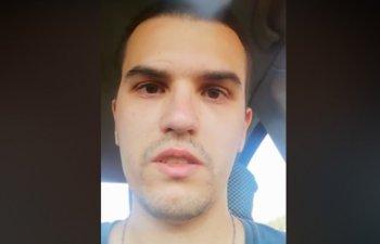 Un tanar din Medgidia si-a dat foc in masina: Tatilor de baieti nu ii faceti copilului vostru ce mi-a facut tatal meu / VIDEO
