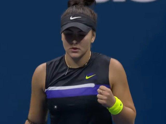 Bianca Andreescu s-a calificat in sferturi la US Open/ VIDEO