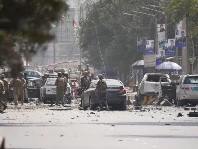 Inca un roman a murit in Afganistan, dupa un atentat sinucigas in apropierea cartierului general al NATO din Kabul/ VIDEO