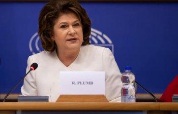 Rovana Plumb, comisarul european desemnat din partea Romaniei