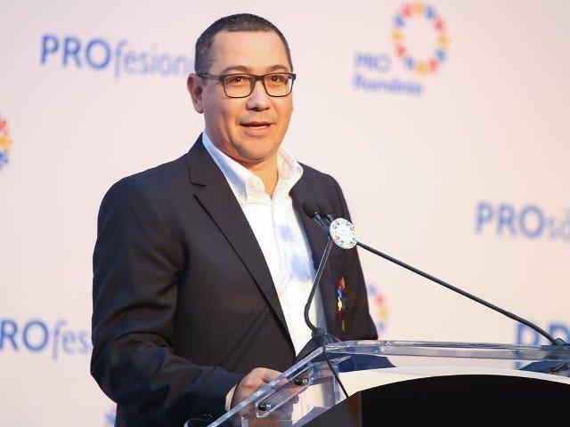 """Ponta: Nu vom vota pentru un nou Guvern """"Dancila 2"""". Nu vom face parte dintr-un guvern de dreapta"""