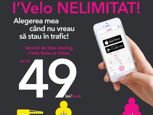 I'Velo Urban si I'Velo Relax sunt acum accesibile printr-o singura aplicatie I'Velo